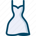 bride, clothing, dress, wedding, woman icon