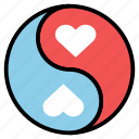 ball, love, monster, pocket icon