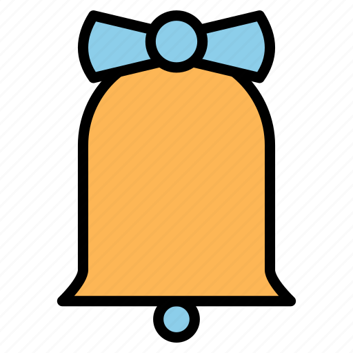 bell, christmas, decoration, jingle, ring icon