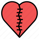 break, broken, celebrate, heart, hurt, valentines icon