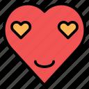 emoticon, face, happy, smile, wink icon