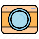 camera, images, lens, memory, photography, video icon