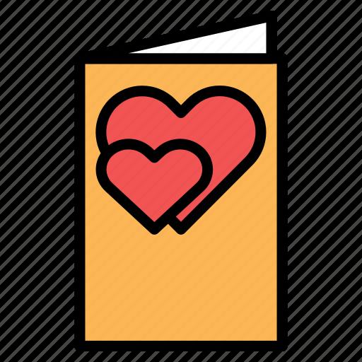 card, invitation, letter, love, romance icon