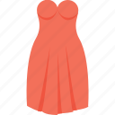 party wear, wedding dress, wedding gown, woman clothing, woman dress icon
