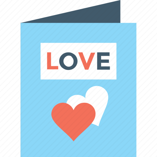 love card, love letter, valentine card, valentine greeting, wishes icon
