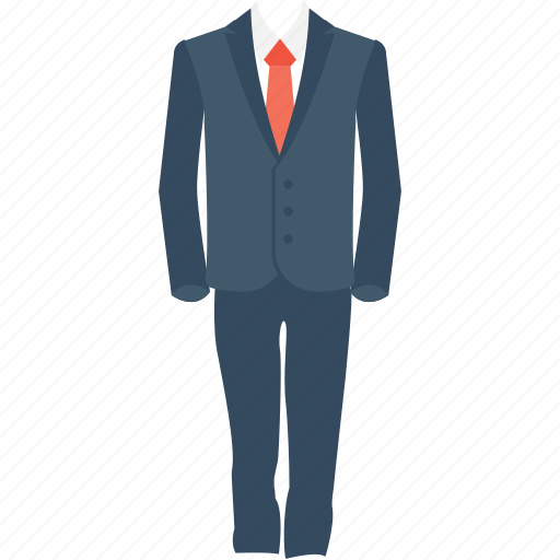 coat, formal suit, men suit, suit, tie icon
