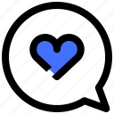 chat, couple, love, married, romance icon