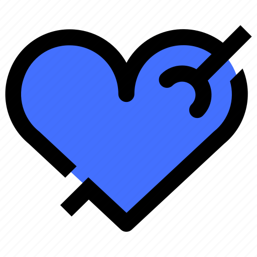 Couple, fallin, heart, love, married, romance icon - Download on Iconfinder