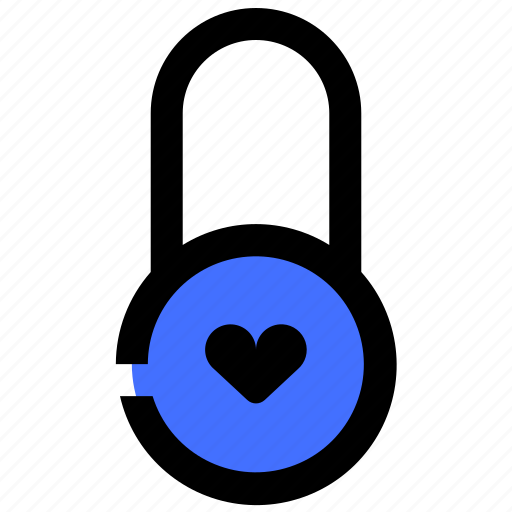 Couple, locked, love, married, padlock, romance icon - Download on Iconfinder
