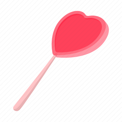 candy, cartoon, dessert, food, heart, shape, sweet icon