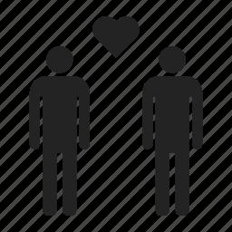 couple, gay, homosexual icon