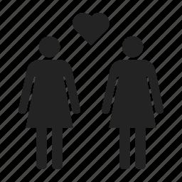 couple, homosexual, lesbian icon