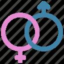 genders, intertwined, loving, passion, gender