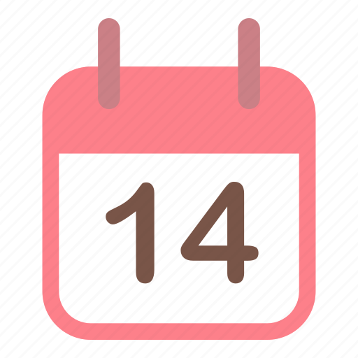 calendar, day, love, valentines icon