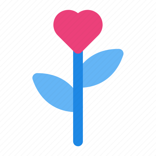 flower, heart, love, romance, rose, valentine, wedding icon