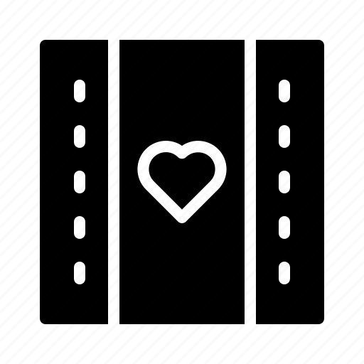 day, engagement, filmstrip, love, valentines, wedding icon