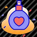 bottle, gift, perfume, perfume gift icon