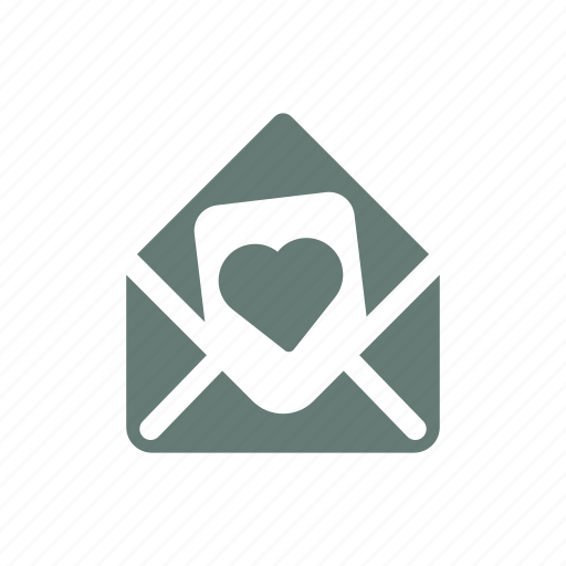 Heart, letter, love, marriage, passion, romance, saint valentine icon - Download on Iconfinder
