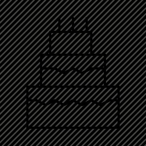 cake, day, engagement, love, valentines, wedding icon
