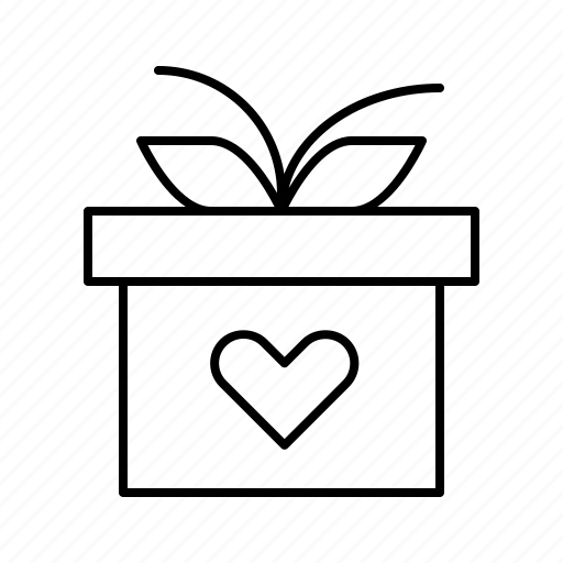 day, engagement, gift, heart, valentines, wedding icon