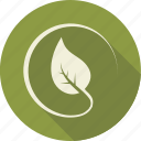 circle, environnement, green, leaf, leaves, nature, tree icon