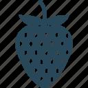 berry, raw food, splash, healthy food, strawberry