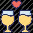 alcohol, beverage, drink, wine, wine glass icon