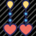 beauty, earrings, fashion accessory, girlish, jewelry icon