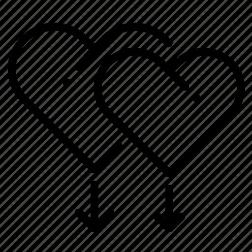 Gay, gender, heart, homosexual, love, sign, valentine icon - Download on Iconfinder