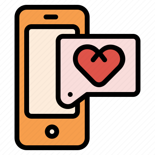 Chat, love, massage, phone, smart, sweet icon - Download on Iconfinder