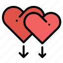 gay, gender, heart, homosexual, love, sign, valentine icon