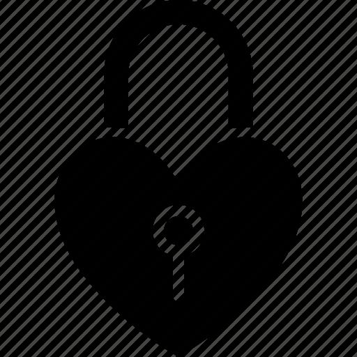 heart lock, love inspiration, privacy, romantic icon
