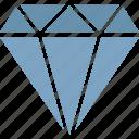 diamond, gem, jewel, jewellery icon