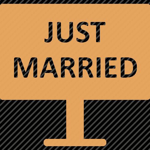 celebration, just married, marriage, newlyweds icon