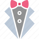 dinner jacket, formal suit, tux, tuxedo icon