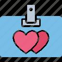 love card, valentine card, valentine greeting, valentine wishes icon