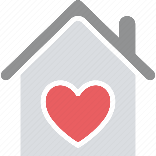 happy family, happy family vector, happy home, heart sign, house, love home icon