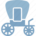 carriage, horse carriage, traditional wedding, wedding carriage icon