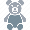 teddy, teddy bear, toy, toy teddy, valentine gift icon