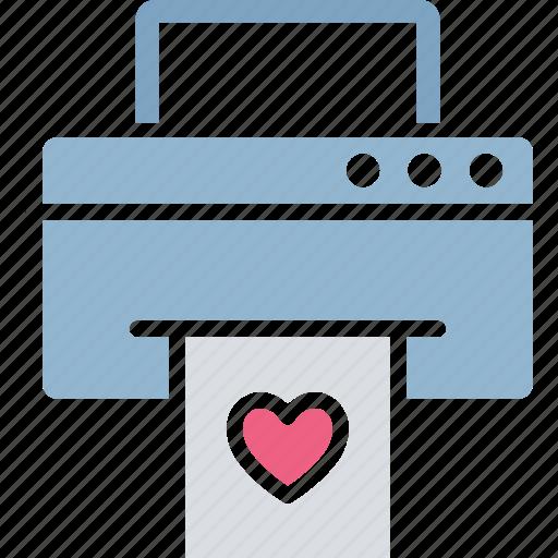 fax, inkjet printers, laser printers, printer icon