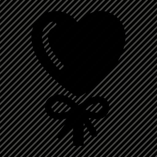 balloon, heart, love, romantic, valentine day icon