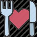dinner, date, loving, passion, restaurant