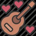 guitar, loving, passion, music, guitarist