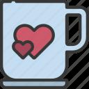 mug, loving, passion, coffee, tea