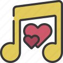 music, loving, passion, musical, note