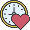 time, for, loving, passion, timer