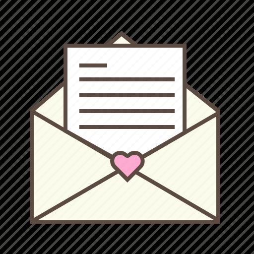 envelope, letter, love, mail, valentines icon