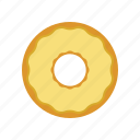 donut, vanilla icon