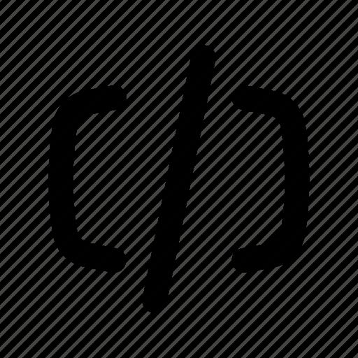 .svg, c, c#, code, coding, computer, development, html, java, parentheses, programming, python, seo, web icon
