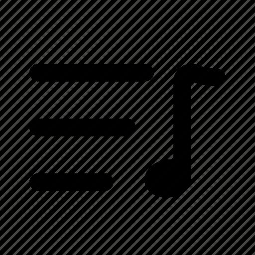 .svg, list, list music, mp3, music, player, soptify, youtube icon